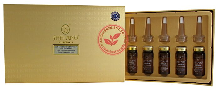 Tinh chất Shelano Skin Lightening Program VIII Bio-Nano