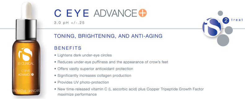 Serum trị thâm quầng mắt iS Clinical C Eye Advance+